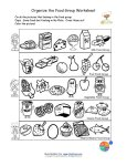 printable food groups
